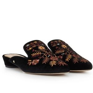 Sam Edelman Ansley Embroidered Mule